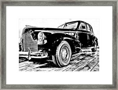 1940 Buick Century Framed Print