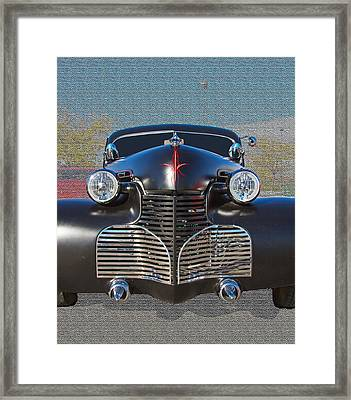 1940 Chevrolet 2 Door Framed Print