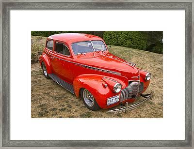 1940 Chevrolet 2 Door Sedan Framed Print
