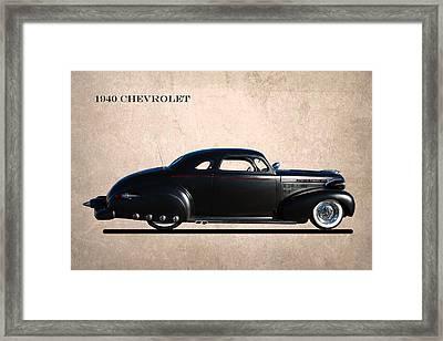 1940 Chevrolet Custom Framed Print