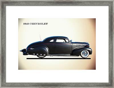 1940 Chevrolet Customized Framed Print