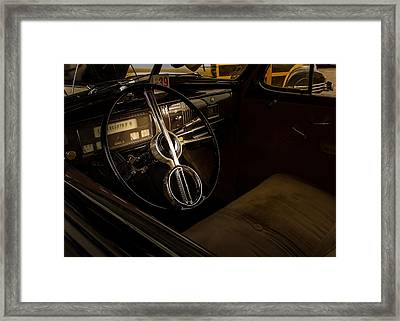 1940 Chevrolet Deluxe Framed Print by Thomas Hall