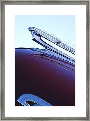 1940 Chevrolet Hood Ornament Framed Print