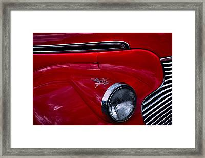 1940 Chevy Coupe Framed Print by David Patterson