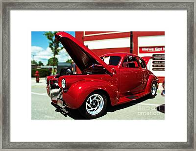 1940 Chevy Framed Print