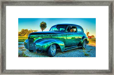 1940 Chevy Sedan Framed Print
