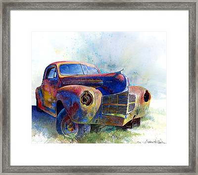 1940 Dodge Framed Print by Andrew King