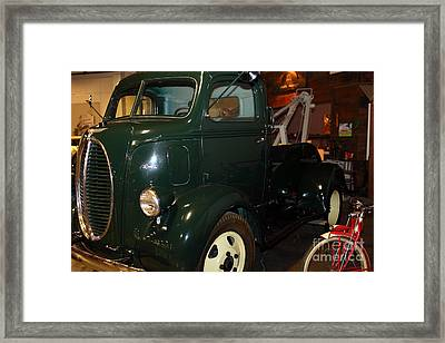 1940 Ford Cabover Tow Truck 5d25759 Framed Print