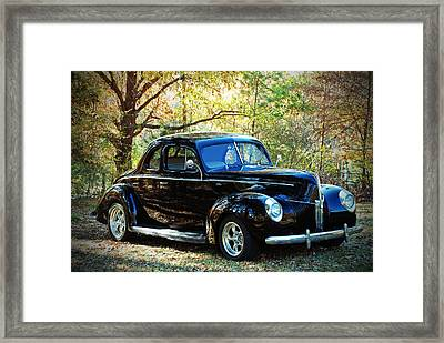 1940 Ford Coupe  Framed Print