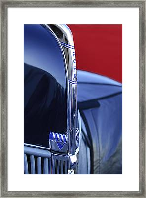 1940 Ford Hood Ornament 2 Framed Print