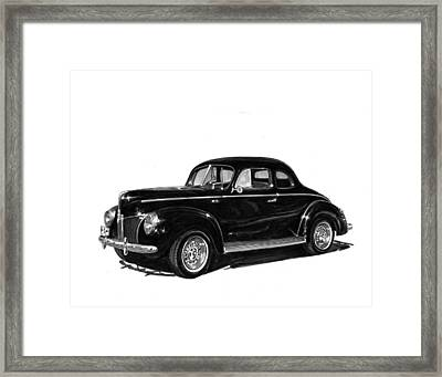 1940 Ford Restro Rod Framed Print