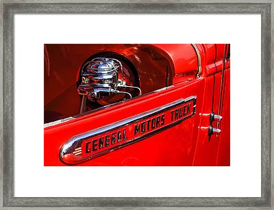 1940 Gmc Pickup Truck Framed Print by Jill Reger