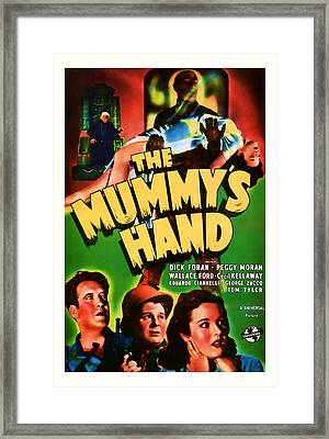 1940 The Mummys Hand Vintage Movie Art Framed Print