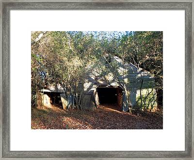 Framed Print featuring the photograph 1940's Barn by Pete Trenholm
