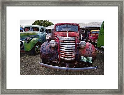 1940s G M C Truck Framed Print