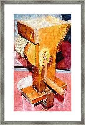 1940s Grater Kitchen Equiptment Framed Print by Jonathan Steward