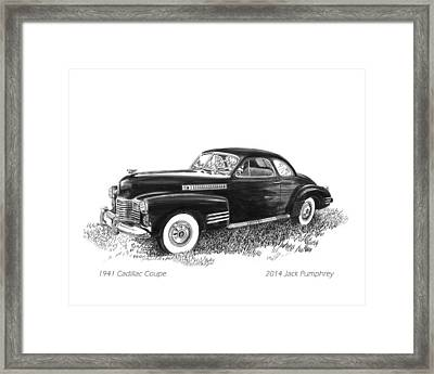1941 Cadillac 62 Coupe Framed Print