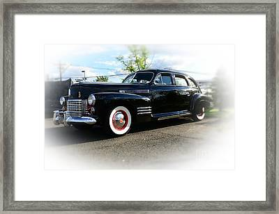 1941 Cadillac Coupe Framed Print by Paul Ward