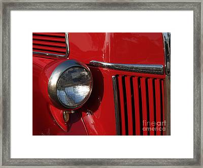 1941 Ford Flatbed Classic Framed Print by Anna Lisa Yoder