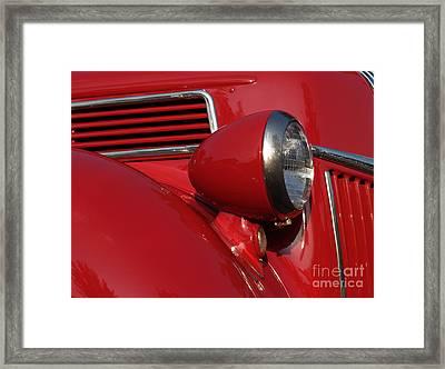 1941 Ford Flatbed Pickup Framed Print by Anna Lisa Yoder