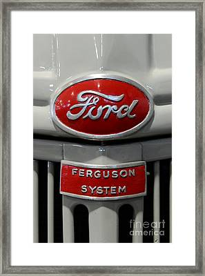 1941 Ford Tractor Ferguson System Framed Print