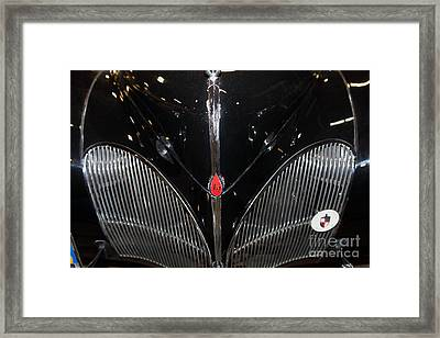 1941 Lincoln Continental 5d25705 Framed Print