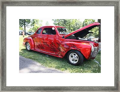 1941 Plymouth Coupe Framed Print by John Telfer