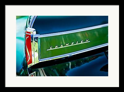1941 Studebaker Champion Coupe Framed Prints