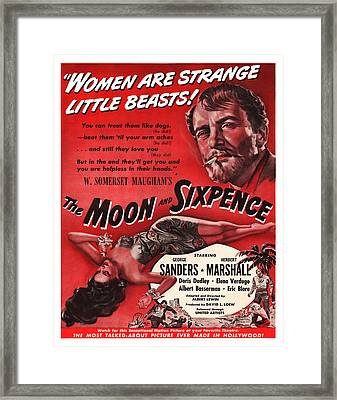 1942 The Moon And Sixpence Framed Print