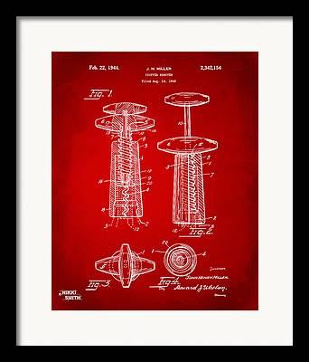 Merlot Digital Art Framed Prints