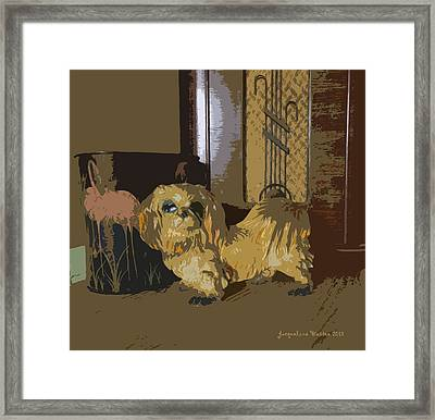1945 Framed Print by Jacqueline  DiAnne Wasson