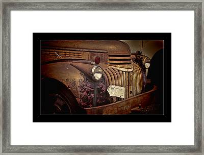 1946 Chevy Truck Framed Print