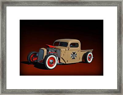 1946 Ford Hot Rod Pickup Framed Print by Tim McCullough
