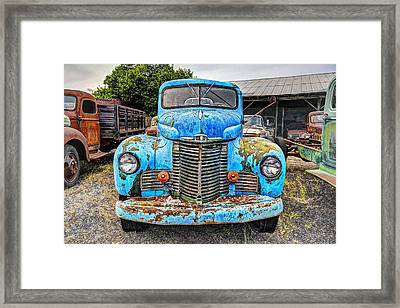 1946 International Harvester Truck Framed Print by Daniel Hagerman