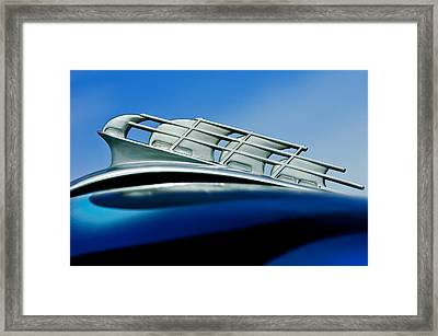 1946 Plymouth Hood Ornament Framed Print by Jill Reger