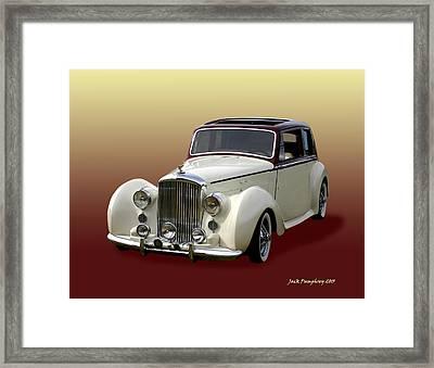 1947 Bentley M K  5   G T X  Framed Print
