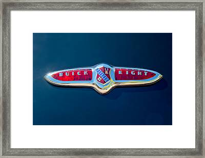 1947 Buick Eight Emblem Framed Print