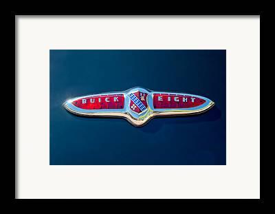 Buick Emblem Framed Prints