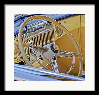 1947 Cadillac Framed Prints