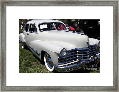 1947 Cadillac Series 62 Sedan 5d22821 Framed Print