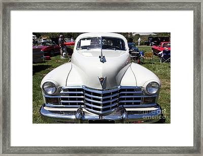1947 Cadillac Series 62 Sedan 5d22824 Framed Print