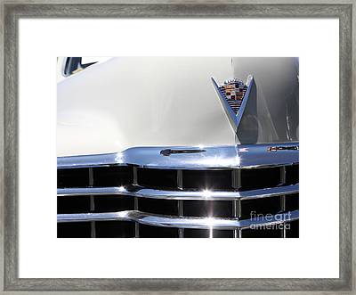 1947 Cadillac Series 62 Sedan 5d22830 Framed Print