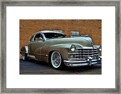 1947 Cadillac Street Rod Framed Print by Tim McCullough