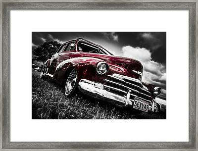 1947 Chevrolet Stylemaster Framed Print by motography aka Phil Clark
