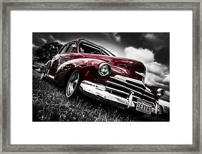 1947 Chevrolet Stylemaster Framed Print