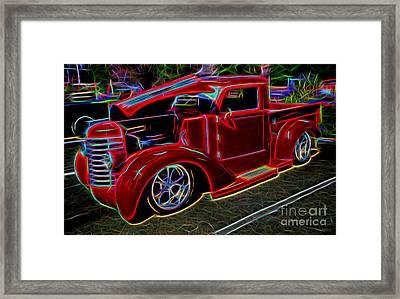 1947 Diamond-t Pickup Vintage Truck Framed Print
