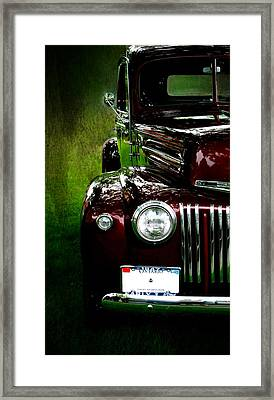 1947 Ford Framed Print by Amanda Struz