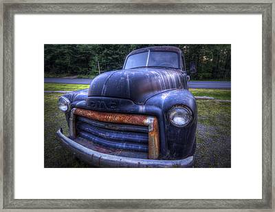 1947 Gmc Framed Print by Eric Gendron