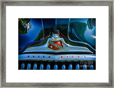 1947 Hood And Grill Framed Print