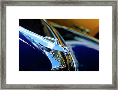 1947 Packard Hood Ornament 4 Framed Print by Jill Reger